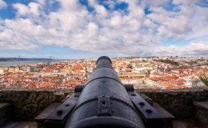 Panorama z zamku św. Jerzego | Lizbona, Portugalia