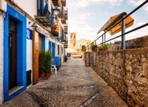 Stare Miasto w Peniscoli | Peniscola, Hiszpania