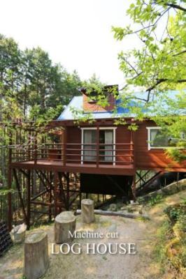 兵庫県宍粟市 森の中のログハウス 580万円
