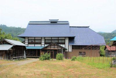 福島県西会津町 1160坪の土地付古民家 150万円