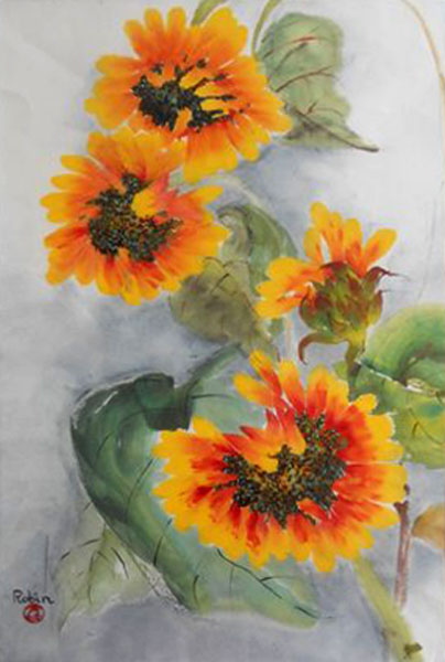 "Robin Frosh ""Sunflowers"""