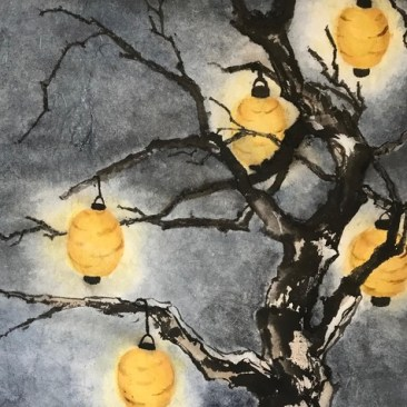 "Kathleen Patterson ""Lanterns On A Moonless Night"""