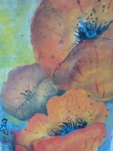 Carol Waite - Poppy Blooms