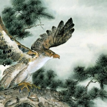 Charlene Fuhrman-Schulz - Eagle and Pine