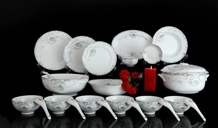 cung cấp bát đĩa nhà hàng sứ Minh Châu tại hà giang