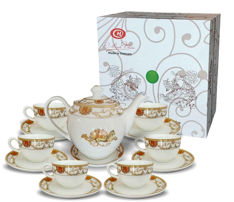 Cơ sở chuyên sản xuất quà tặng ấm trà gốm sứ giá rẻ uy tín