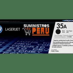 toner HP 35A, Cartucho original de tóner negro HP 35A LaserJet (CB435A), Toner original hp 35a en Lima, venta de toner en lima