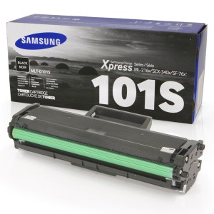 TONER SAMSUNG MLT-D101S, Color: Negro, Rendimiento: 1500 pág., Compatibilidad: ML-2160/2165/2165W.