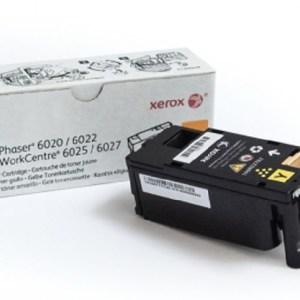 TONER XEROX 106R02762 YELLOW, Rendimiento: 1,000 páginas, Color: amarillo, Compatibilidad: WorkCentre 6027, WorkCentre 6025, Phaser 6022, Phaser 6020