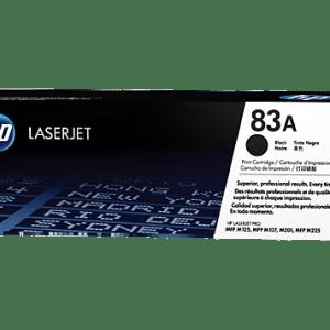 toner HP 83A CF283A, Color: Negro, Compatibilidad: HP LaserJet Pro MFP M125 / M127, Rendimiento: 1500 páginas.