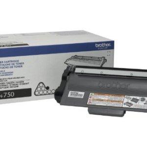 TONER BROTHER TN-750 NEGRO Tóner para HL5450DN / HL5470DW / HL6180DW /DCP8155DN/MFC8910DW/ MFC8950DW. Rendimiento 8,000 pá