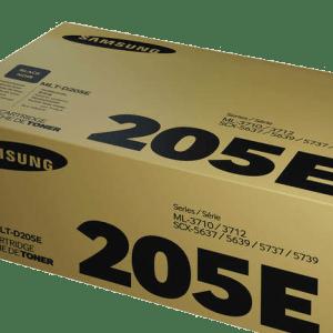 TONER SAMSUNG MLT-D205E, Rendimiento: 10000 pág., Compatibilidad: ML-3710ND SCX-5637FR