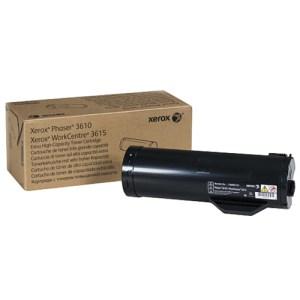 TONER XEROX 106R02732 , Toner DMO, Compatibilidad: Phaser 3610, WorkCentre 3615, Rendimiento: 25,300 pags