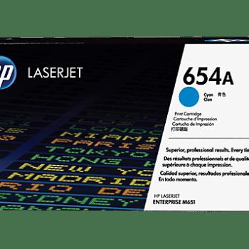 Toner HP 654A Cyan CF331A