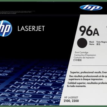 Cartucho de tóner original LaserJet HP 96A negro