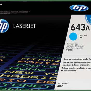 Toner HP 643A Q5951A CYAN
