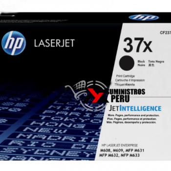 Toner HP 37X CF237X