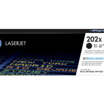 Toner HP 202X CF500X Negro