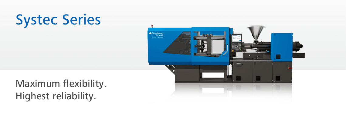 Hydraulic injection molding machine: Systec Series