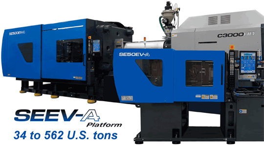 SE-EVA All-Electric Platform of injection molding machines