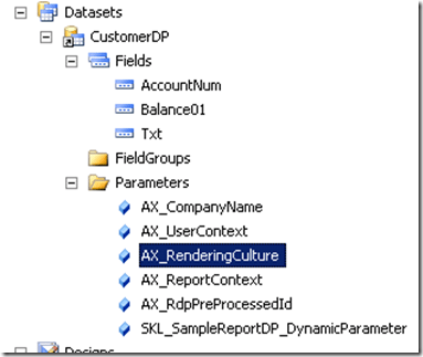 Building a simple report – Using Report Data Provider (6/6)