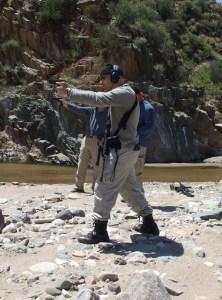 Eric Kruk Combatives CQC HARIMAU KNIFE