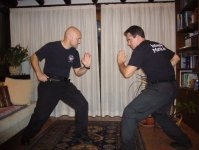 Eric Kruk Harimau H2H Combatives CQC Knife Fighting