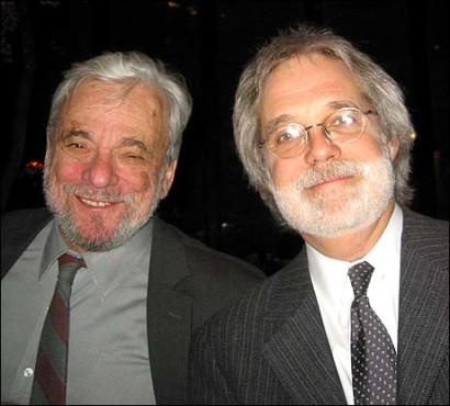 From Left: Stephen Sondheim and John Weidman