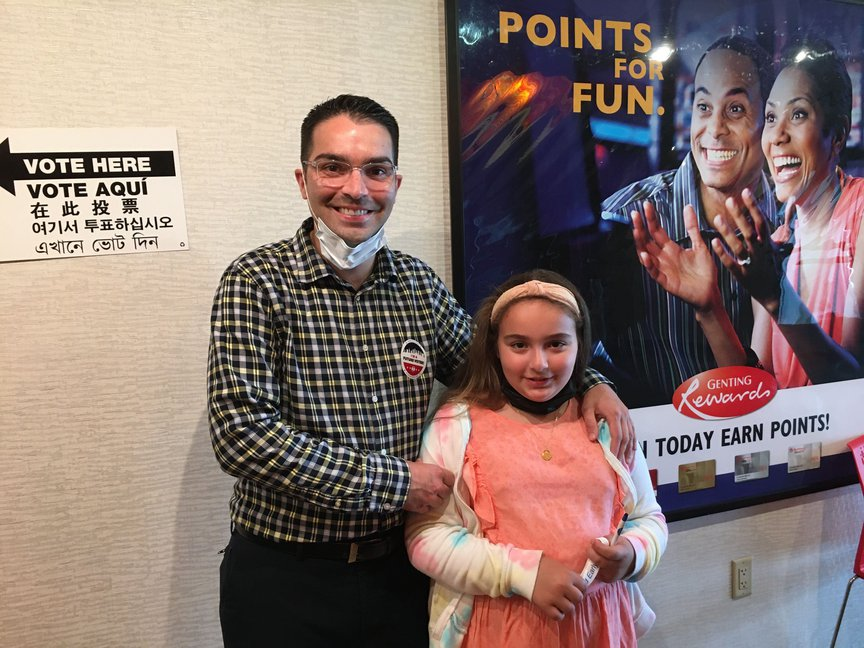 Eric Ulrich and daughter