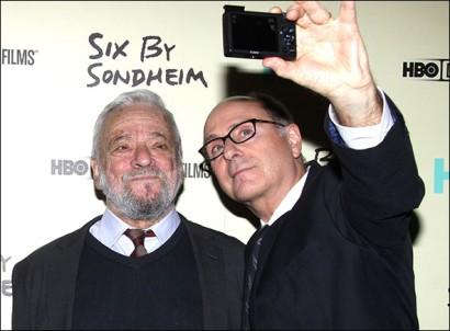 Stephen Sondheim and James Lapine