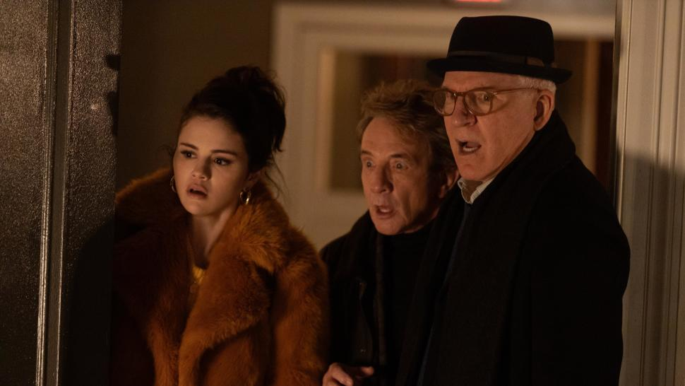 Selena Gomez, Martin Short, and Steve Martin in <i data-recalc-dims=
