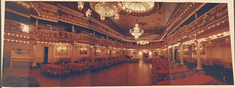 The second floor ballroom in 1995.