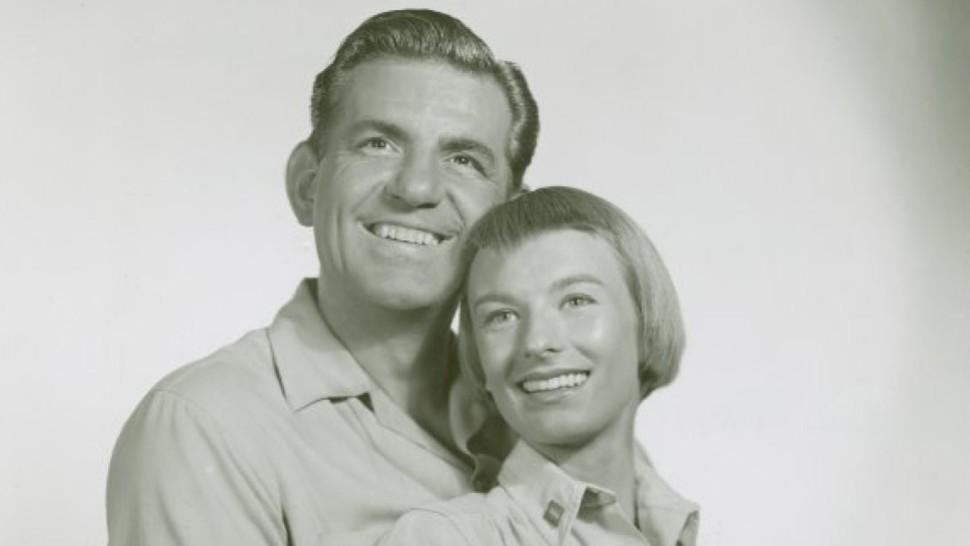 George Britton and Cloris Leachman in <i data-recalc-dims=