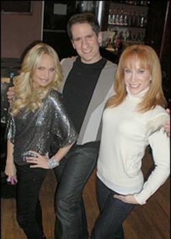 Kristin Chenoweth, Seth Rudetsky and Kathy Griffin