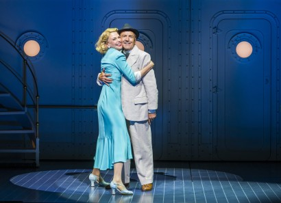 Sutton Foster and Robert Lindsay in <i data-recalc-dims=