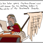 Captain Moroni's Editorials
