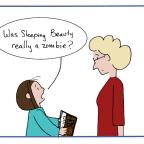 Sleeping Zombie