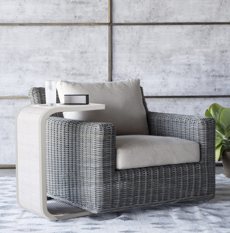 how to create movement in your patio space with outdoor swivel chairs