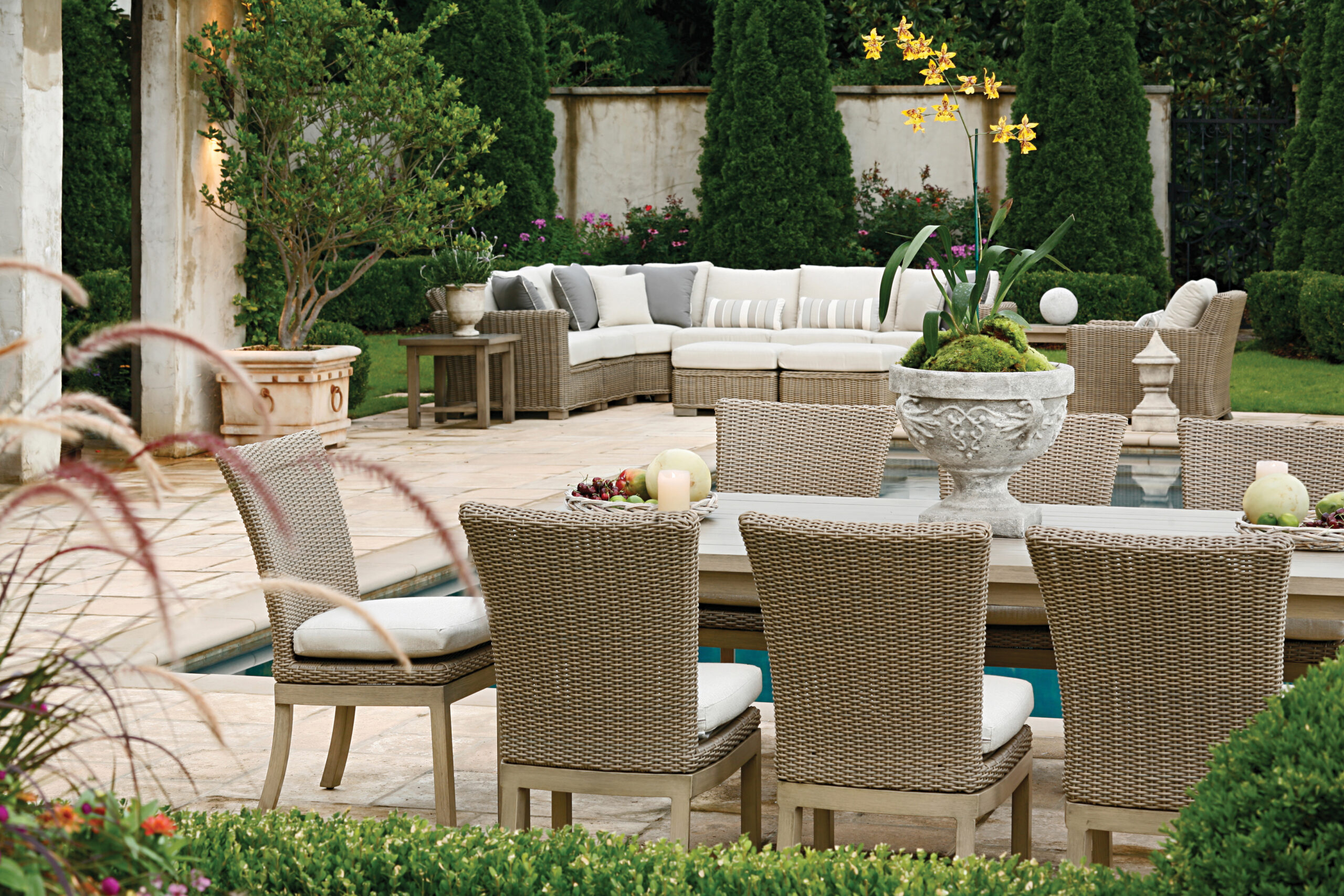 a short history of outdoor furniture