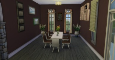 Also, this dining room perfectly captures formality in a great sense.