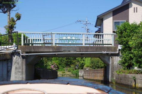 あじさい橋から十二橋です。
