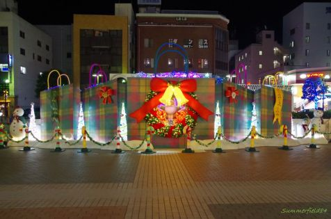 伊勢丹前の広場