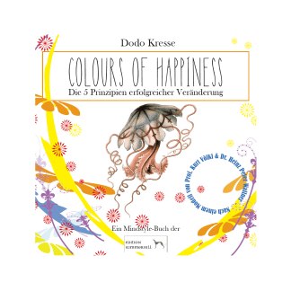 Du siehst das Cover von Colours of Happiness