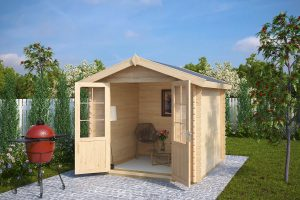 Cam House 26 Liina B2 01CC 300x200 - 10 useful tips about wooden summer houses and sheds before you buy