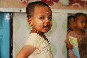An child from an orphanage, Sittwe
