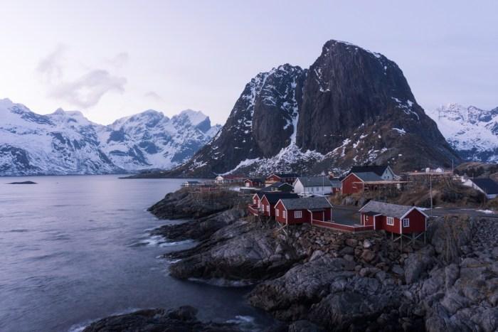 Rorbuer Hamnøya