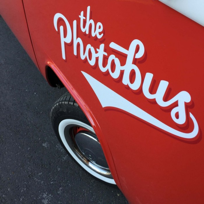 The Photobus in Red