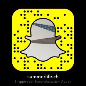 Snapchat Code von summerlife.ch