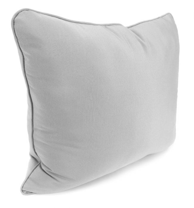toss pillow with cording