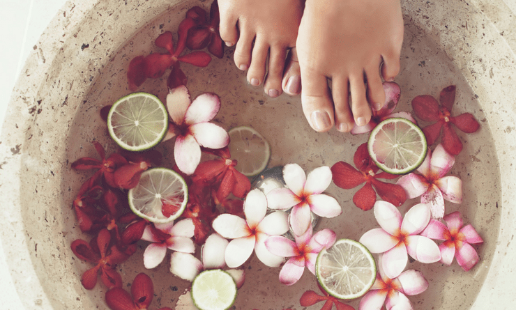 DIY Home Pedicure